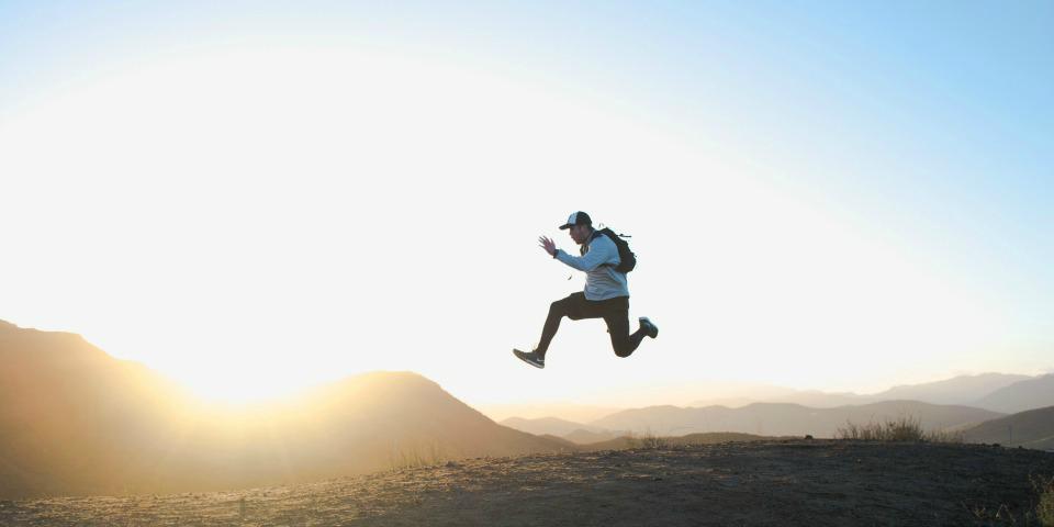 Mand-springer